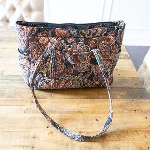 Vera Bradley Large Pocket Zip Tote KENSINGTON